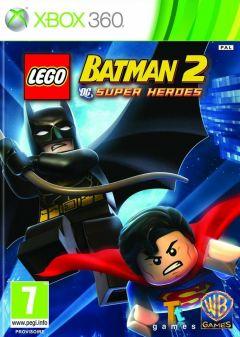 Jaquette de LEGO Batman 2 : DC Super Heroes Xbox 360