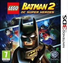 Jaquette de LEGO Batman 2 : DC Super Heroes Nintendo 3DS