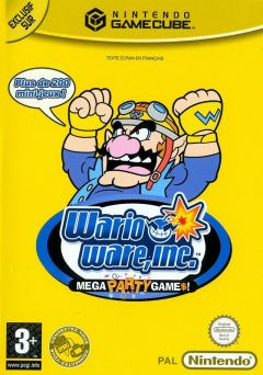 Jaquette de Wario Ware Inc. : Mega Party Game$ GameCube