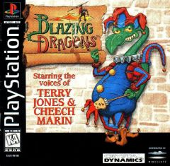 Jaquette de Blazing Dragons PlayStation