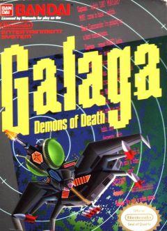 Jaquette de Galaga NES