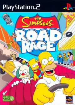 Jaquette de The Simpsons : Road Rage PlayStation 2
