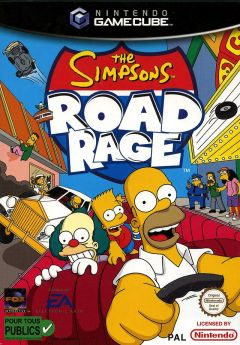 Jaquette de The Simpsons : Road Rage GameCube
