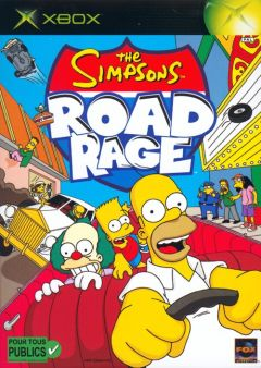 Jaquette de The Simpsons : Road Rage Xbox