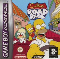 Jaquette de The Simpsons : Road Rage Game Boy Advance