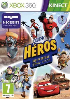 Jaquette de Kinect Héros : Une aventure Disney-Pixar Xbox 360
