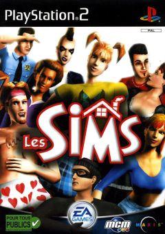 Jaquette de Les Sims PlayStation 2