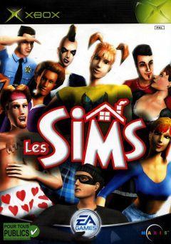 Jaquette de Les Sims Xbox