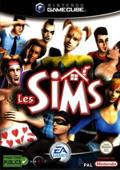 Jaquette de Les Sims GameCube