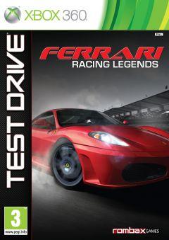 Jaquette de Test Drive : Ferrari Racing Legends Xbox 360