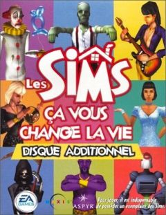 Jaquette de Les Sims : Ca vous Change la Vie PC