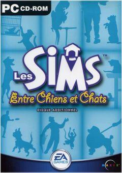 Jaquette de Les Sims : Entre Chiens et Chats PC