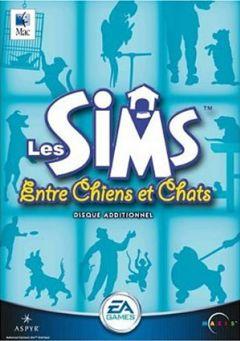 Jaquette de Les Sims : Entre Chiens et Chats Mac
