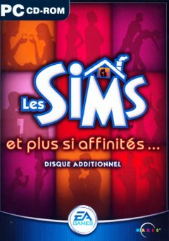 Jaquette de Les Sims : Et Plus si Affinités... PC