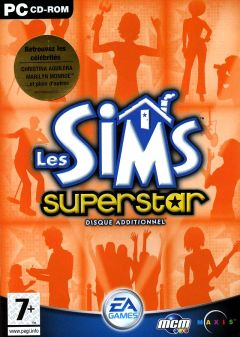 Jaquette de Les Sims : Superstar PC