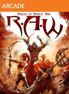 Jaquette de R.A.W. Realms of Ancient War Xbox 360