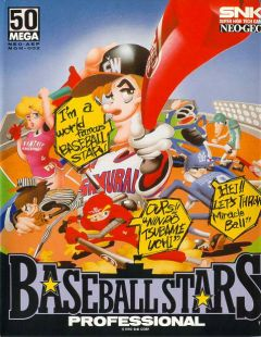 Jaquette de Baseball Stars Professional NeoGeo