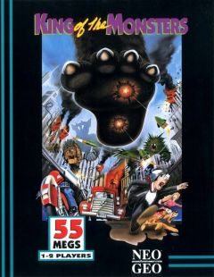 Jaquette de King of the Monsters NeoGeo