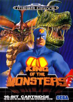 Jaquette de King of the Monsters Megadrive