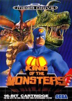 Jaquette de King of the Monsters Mega Drive