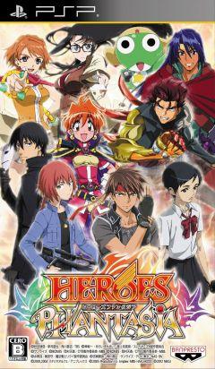 Jaquette de Heroes Phantasia PSP