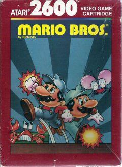 Jaquette de Mario Bros. Atari 2600