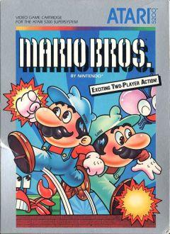 Jaquette de Mario Bros. Atari 5200