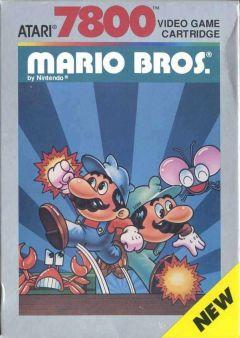 Jaquette de Mario Bros. Atari 7800