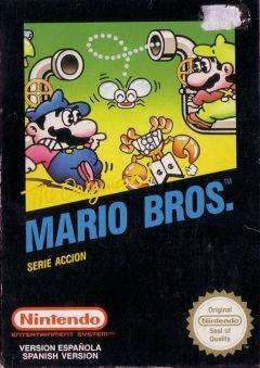 Jaquette de Mario Bros. NES