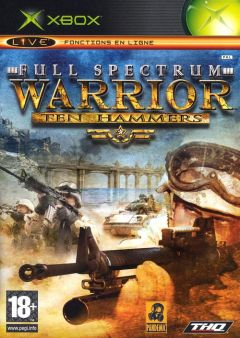 Jaquette de Full Spectrum Warrior : Ten Hammers Xbox