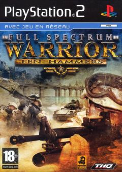 Jaquette de Full Spectrum Warrior : Ten Hammers PlayStation 2