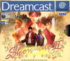 Jaquette de Shenmue II Dreamcast