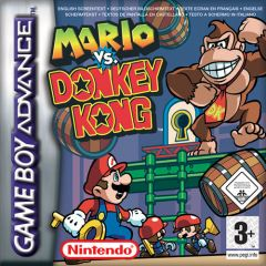 Jaquette de Mario Vs. Donkey Kong Game Boy Advance