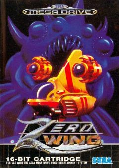 Jaquette de Zero Wing Megadrive