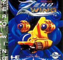 Jaquette de Zero Wing PC Engine