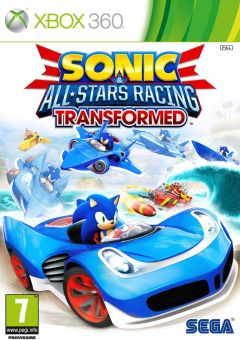 Jaquette de Sonic & All-Stars Racing Transformed Xbox 360