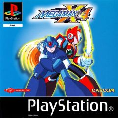 Jaquette de Mega Man X4 PlayStation