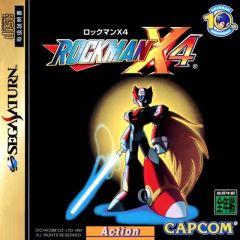 Jaquette de Mega Man X4 Sega Saturn