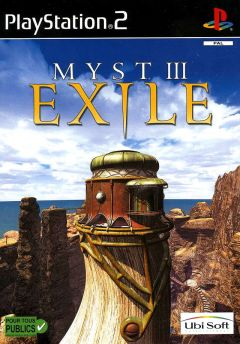 Jaquette de Myst III : Exile PlayStation 2