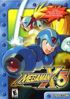 Jaquette de Mega Man X5 PC