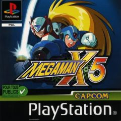 Jaquette de Mega Man X5 PlayStation