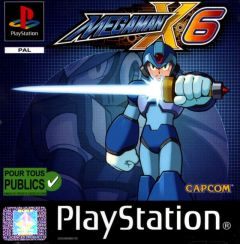 Jaquette de Mega Man X6 PlayStation