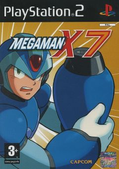 Jaquette de Mega Man X7 PlayStation