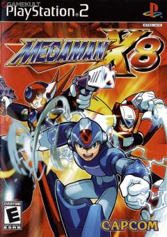 Jaquette de Mega Man X8 PlayStation 2