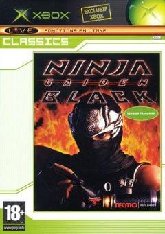 Jaquette de Ninja Gaiden Black Xbox