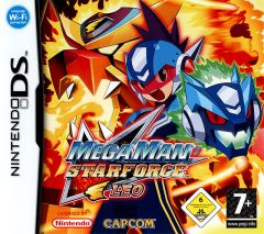 Jaquette de Mega Man Star Force : Leo DS