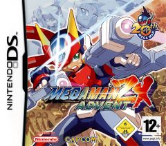 Jaquette de Mega Man ZX Advent DS