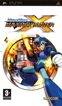 Jaquette de Mega Man Maverick Hunter X PSP