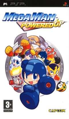 Jaquette de Mega Man Powered Up PSP