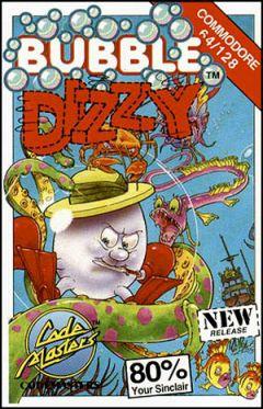 Jaquette de Bubble Dizzy Commodore 64